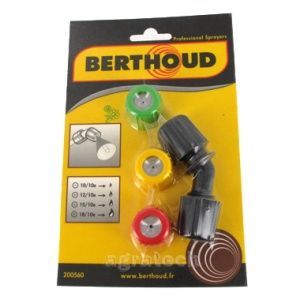 Berthoud Nozzle pack